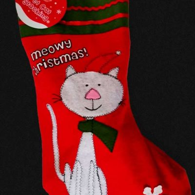 Cat Christmas Stocking