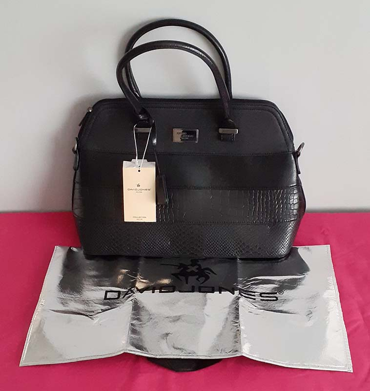 David Jones Black Handbag