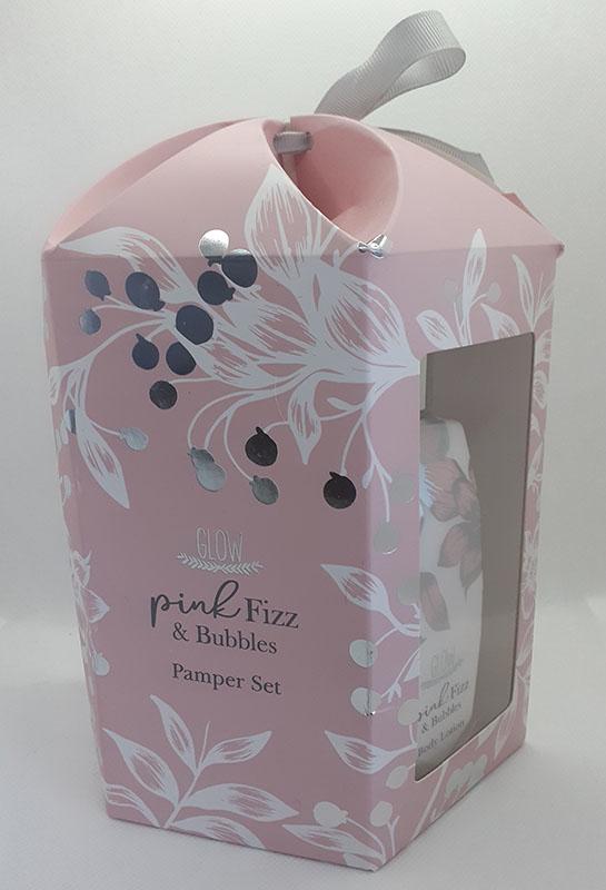 Pink Fizz & Bubbles Pamper Set