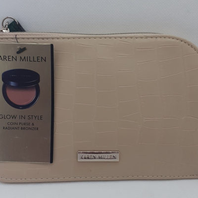 Karen Millen purse & bronzer