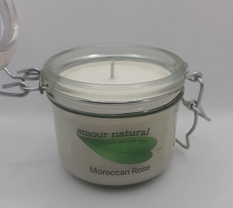 Morrocan Rose Candle