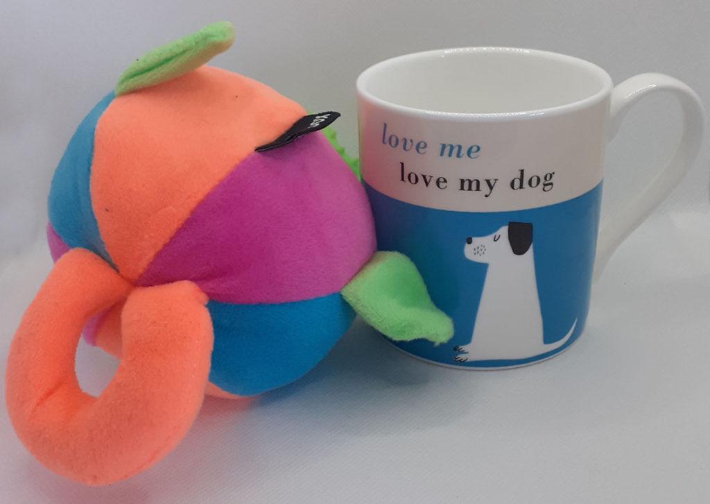 Dog Toy and Mug