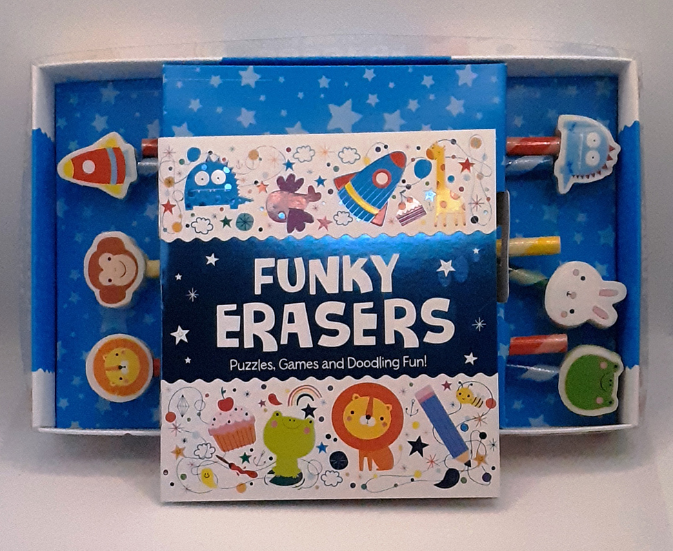 Funky Erasers