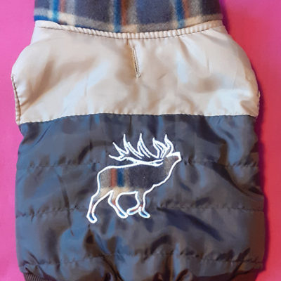Fleece-lined Dog Coat