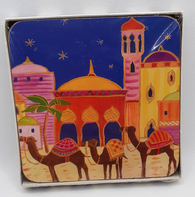 Pack of 4 Camel Coasters
