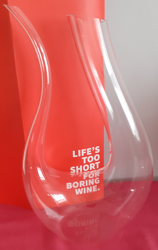 Virgin Wines Carafe