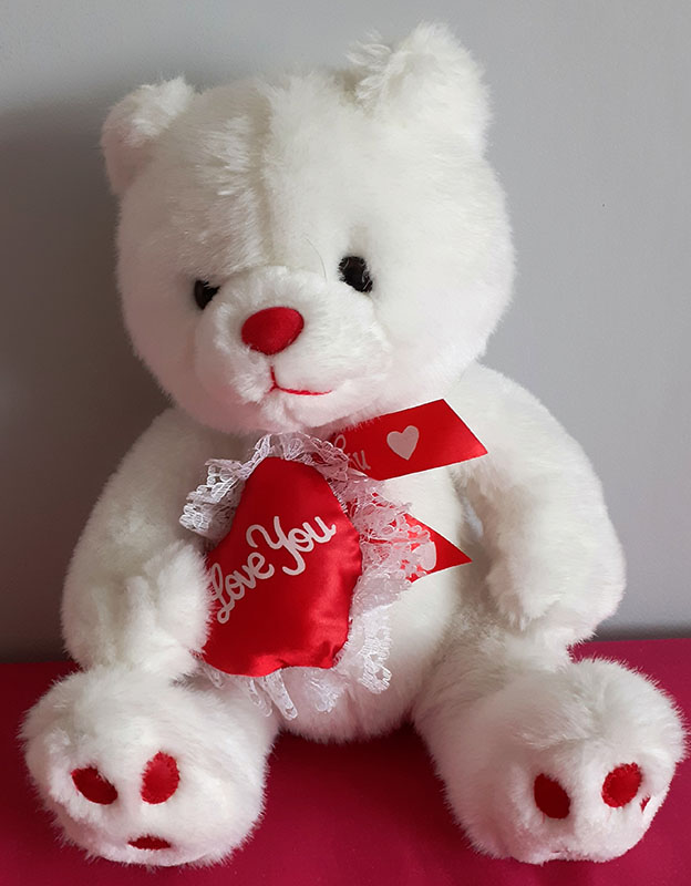 Lovely Bear saying I Love You