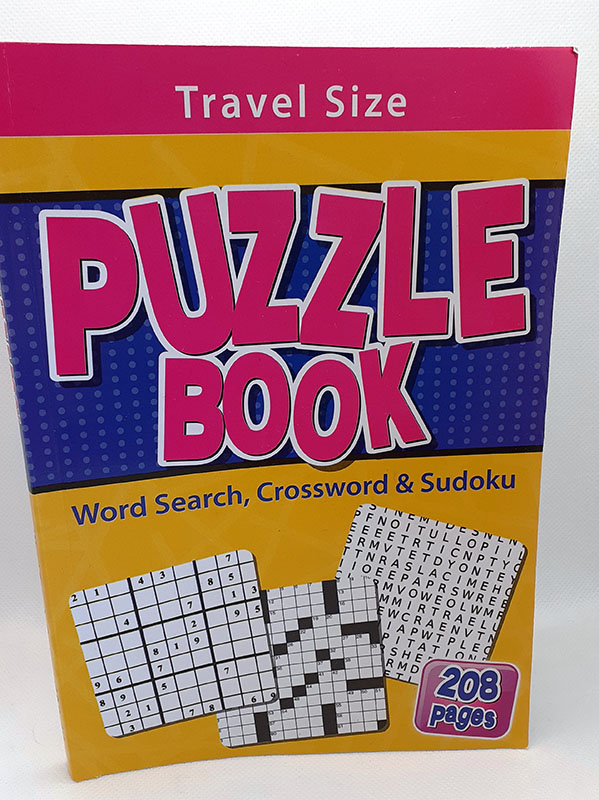Travel Size Puzzle Book