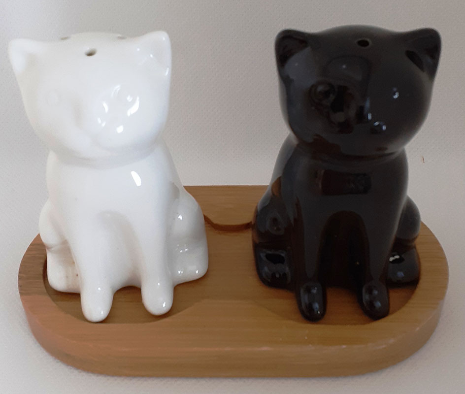 Cat Salt & Pepper Set