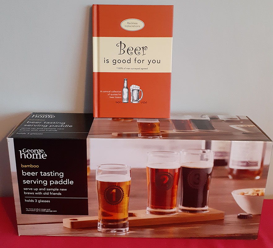 Beer Book & Serving Paddle