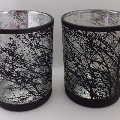 Etched Tealight Holders