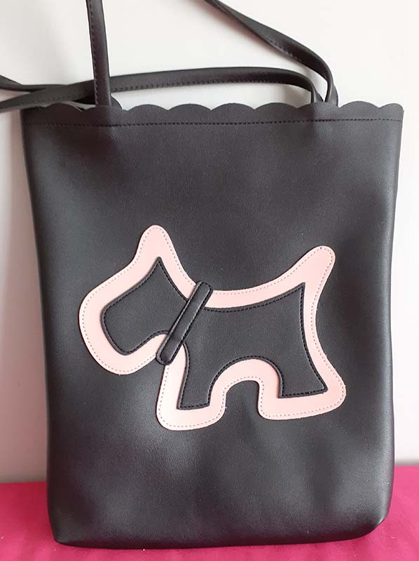 Large Bag with Scottie motif