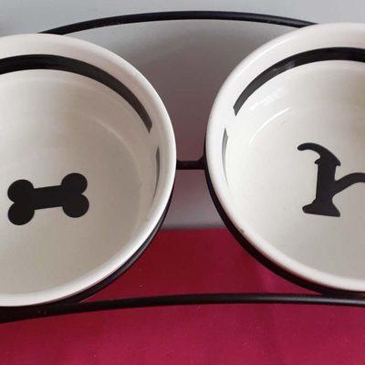 Trixie Dog Food Bowls set
