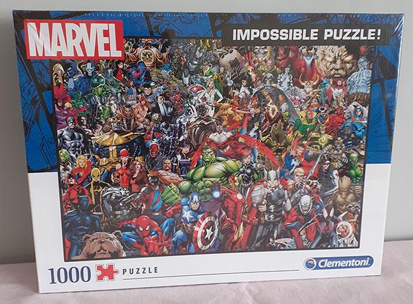 Marvel 1000-piece Puzzle