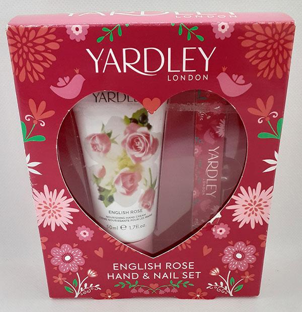 English Rose Hand & Nail Set