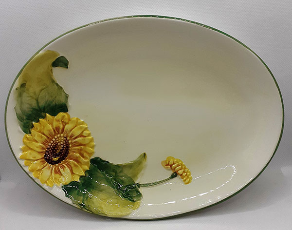 Pretty Pottery Plate
