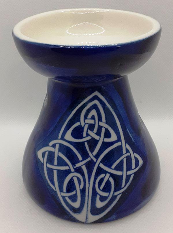 Blue Ceramic Oil Burner