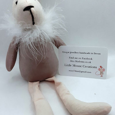 Funky Rabbit to sit on your shelf