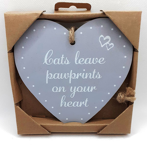 Heart-shaped Hanging Plaque