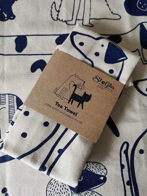 NEW Branded Tea Towel