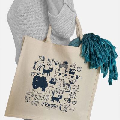 Branded Natural Cotton Tote Bag