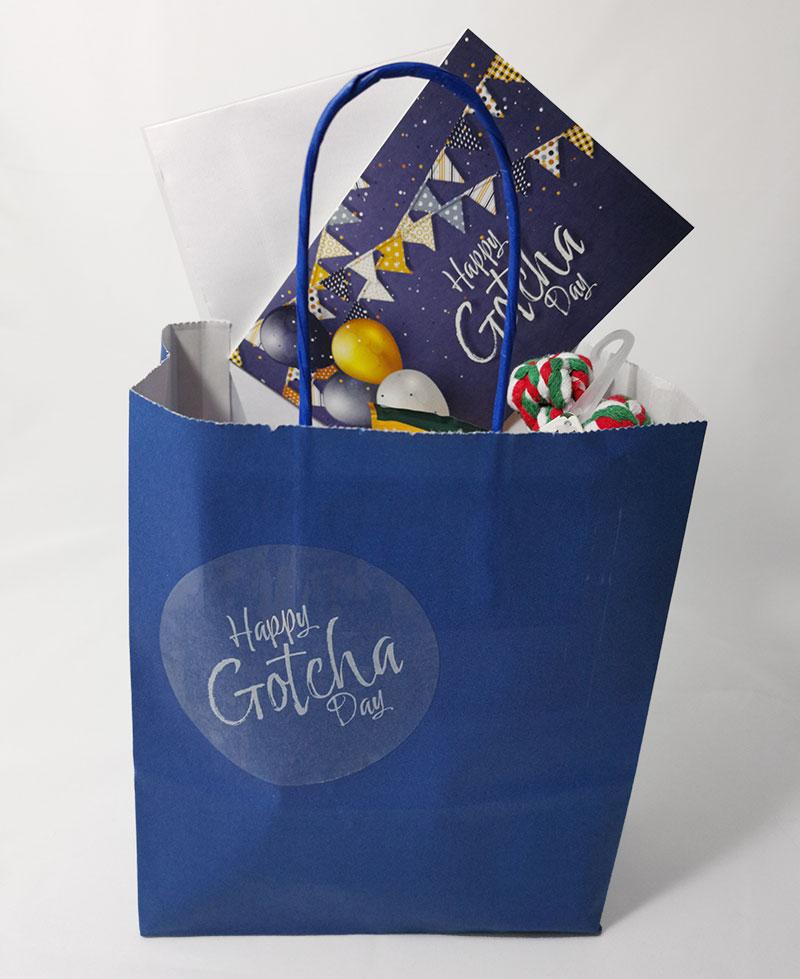 Gotcha Gift Bag and Goodies