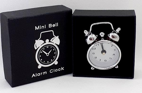 Mini Bell Alarm Clock