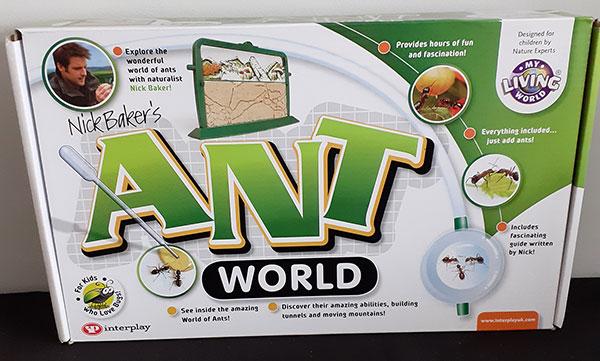 Nick Baker's Ant World