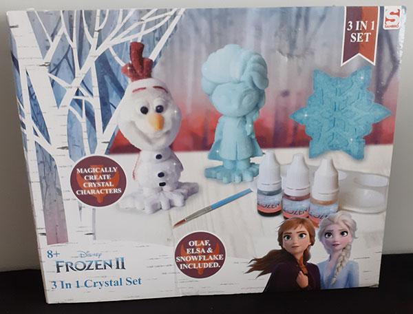 Frozen II 3 in 1 Crystal Set