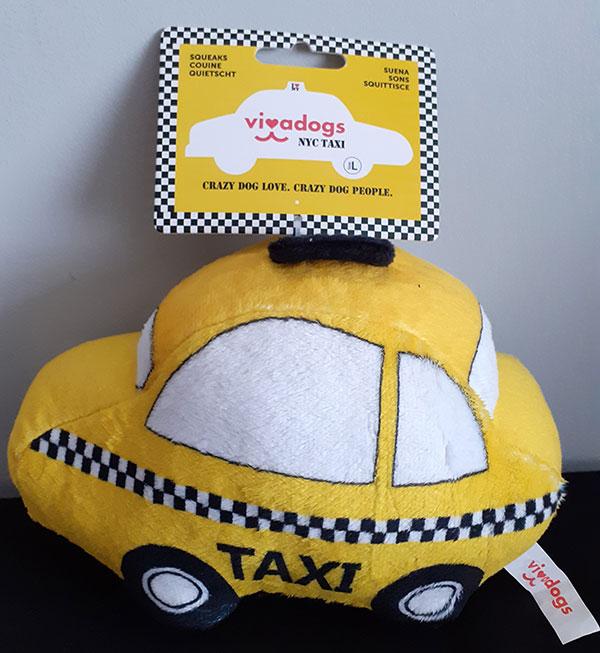 Vivadog NYC Taxi Toy
