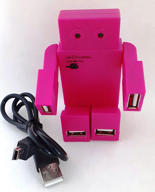 USB 4-port Mini Hub