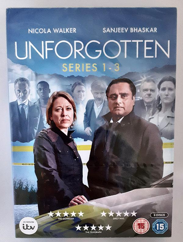 Unforgotten Series 1-3 DVD set