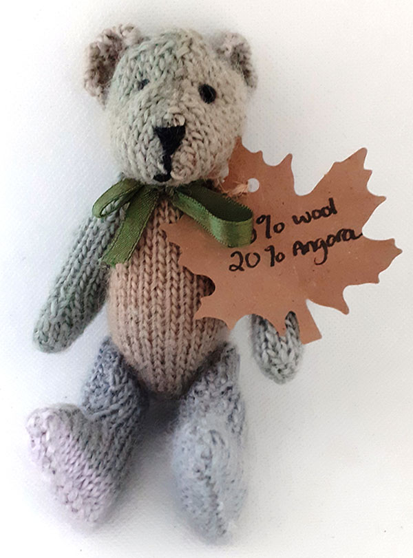 Beautiful Hand-knitted Teddy