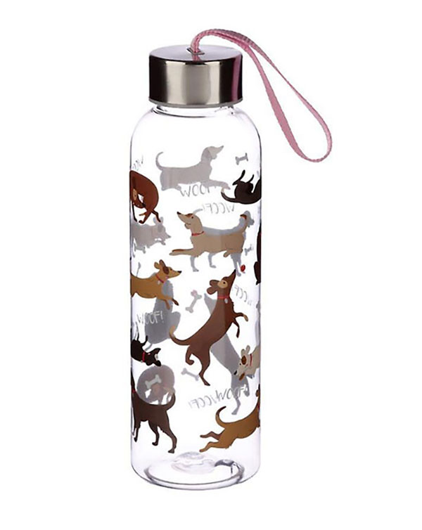 Puckator Catch Patch Dog Resuable Water Bottle