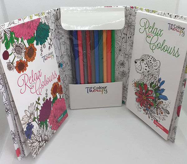 Relax with Colours Travel Set