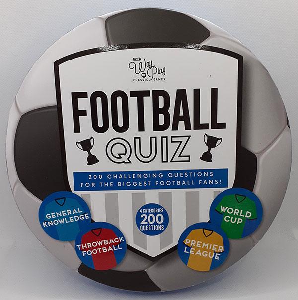 Challenging Football Quiz
